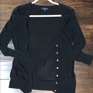 🔥2 for 10$ 🔥Preloved black fitted cardigan